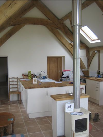 Exposed Beams Build Your Own House Annex Ideas Chalet