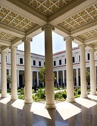 "I visited the J. Paul Getty Villa in Malibu, California in the late '80s as a teenager and experienced my first ""moved by an amazing piece of art"" moment while viewing Vincent van Gogh's ""Irises.""  Something I will never forget.  http://www.getty.edu/art/gettyguide/artObjectDetails?artobj=947"