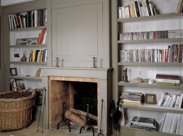 Bibliotheque cheminee chemin e pinterest belle d co for Deco salon bibliotheque