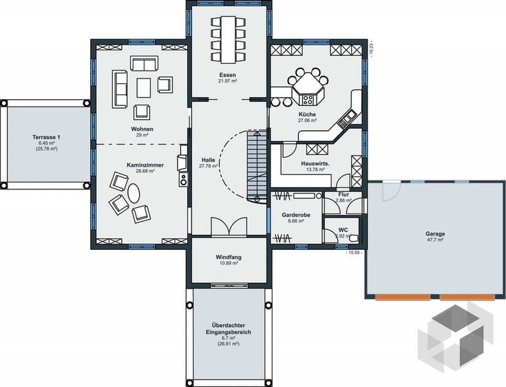 81 best Haus random images on Pinterest Building homes, Design - plan 3 k che
