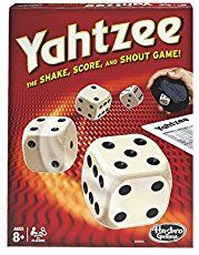 Now you can play Yahtzee online, anytime.  Yahtzee is a simple brain game that trains analytical thinking skills.  Play free online now!
