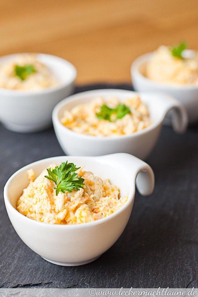 Gedünsteter Karottensalat mit Joghurt und Knoblauch