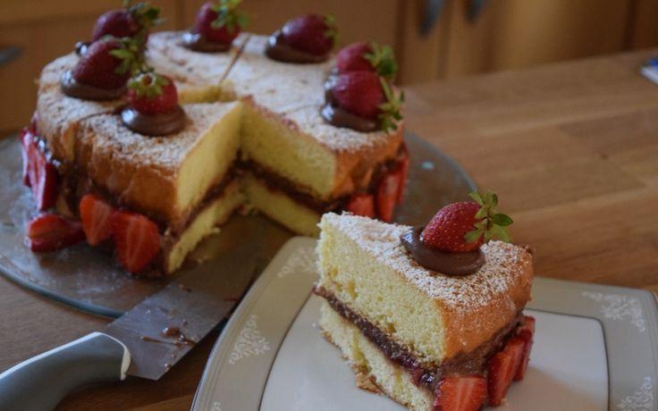 Delicious victoria cake!!!