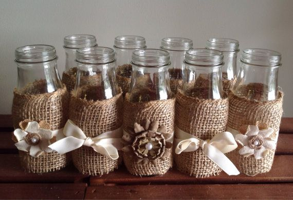 Hey, I found this really awesome Etsy listing at https://www.etsy.com/listing/194304034/rustic-wedding-decor-glass-milk-bottles