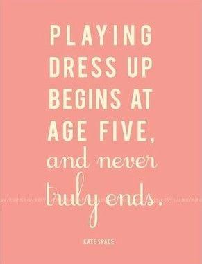 Especially if you're an actor...