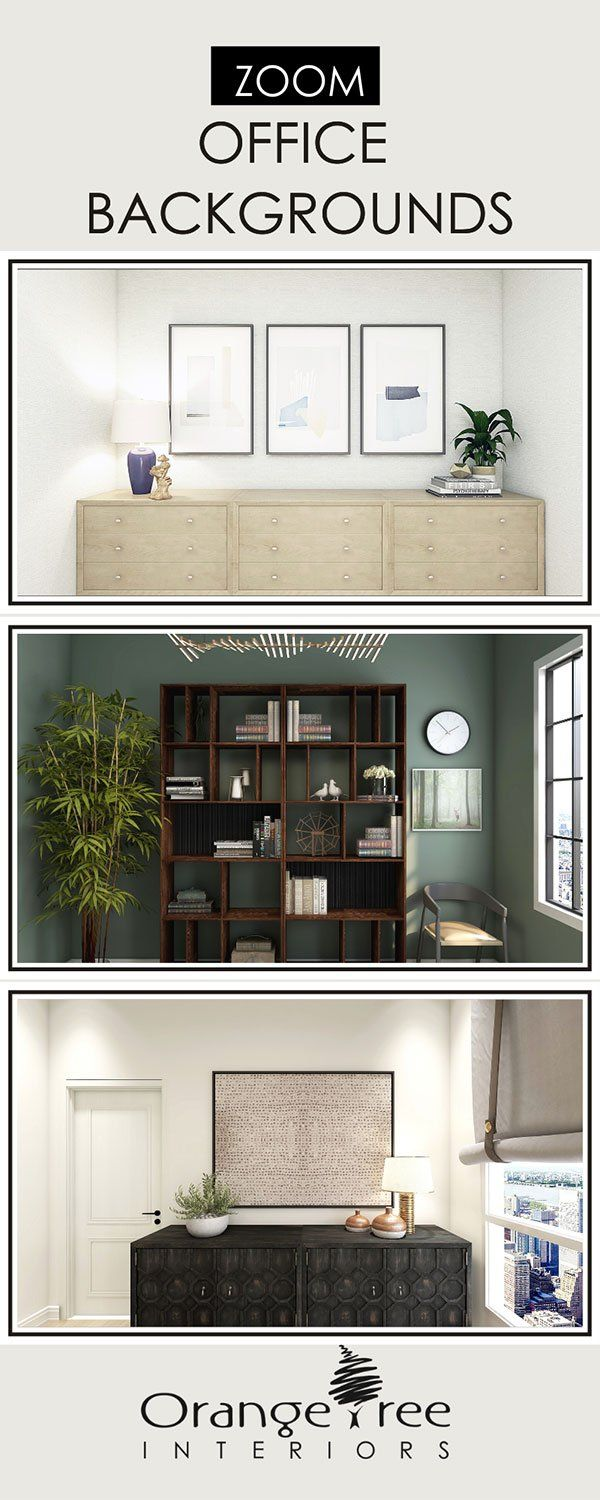 Virtual Office Backgrounds For Zoom 2020 In 2020 Office Background Home Office Design Office Interior Design