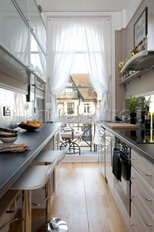 92 besten küche bilder auf pinterest | wohnen, kleine küche und ... - Schmale Tische Für Küche