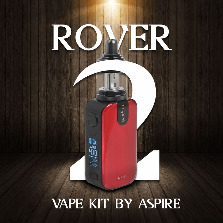 The Aspire Rover 2 vape kit is a discreet vape kit which