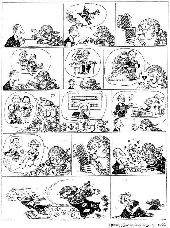 Viñeta de Quino para el nivel B1 #Quino #B1 #Futuro #Humor