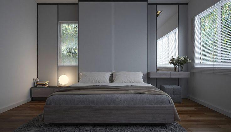 Camera da letto minimal 20