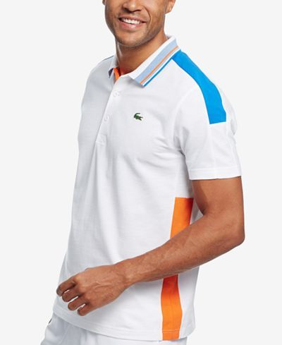 Lacoste Men's Super-Light Colorblocked Polo - Lacoste - Men - Macy's