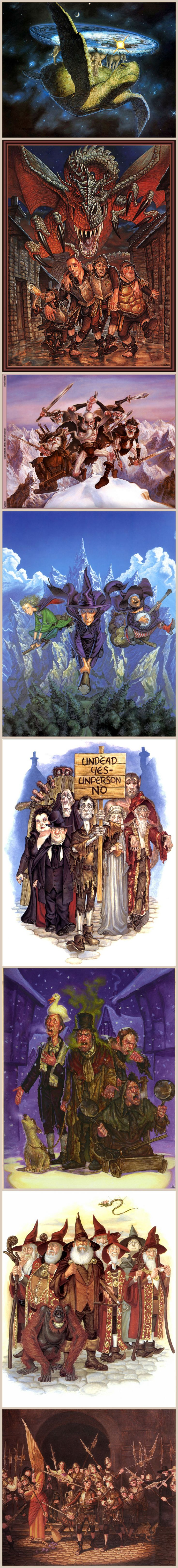Discworld illustrations by Paul Kidby