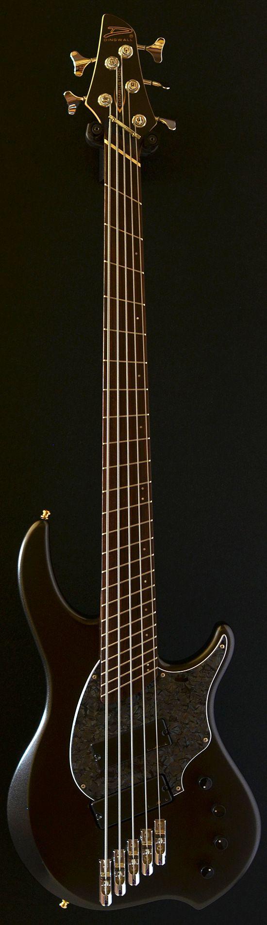 Dingwall Combustion 5 String Satin Black