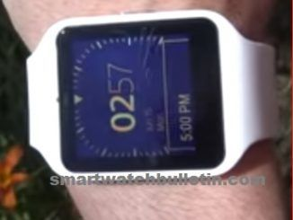 Sony Smartwatch 3 Features Wifi Waterproof Strap Wrist With Iphone