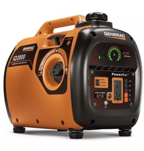 Portable Generator Generac IQ2000 Watt Quiet 1600 Running Watt