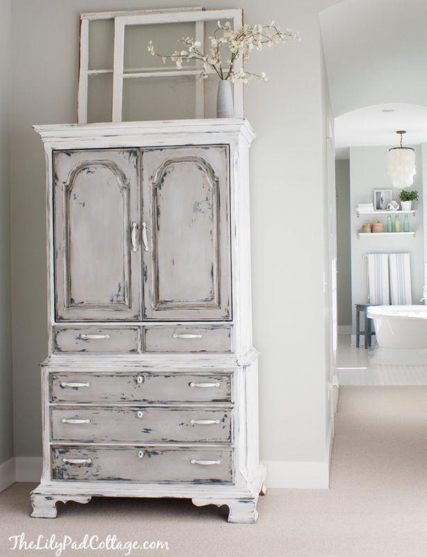 Best Master Bedroom Update Armoire Makeover Furniture 400 x 300