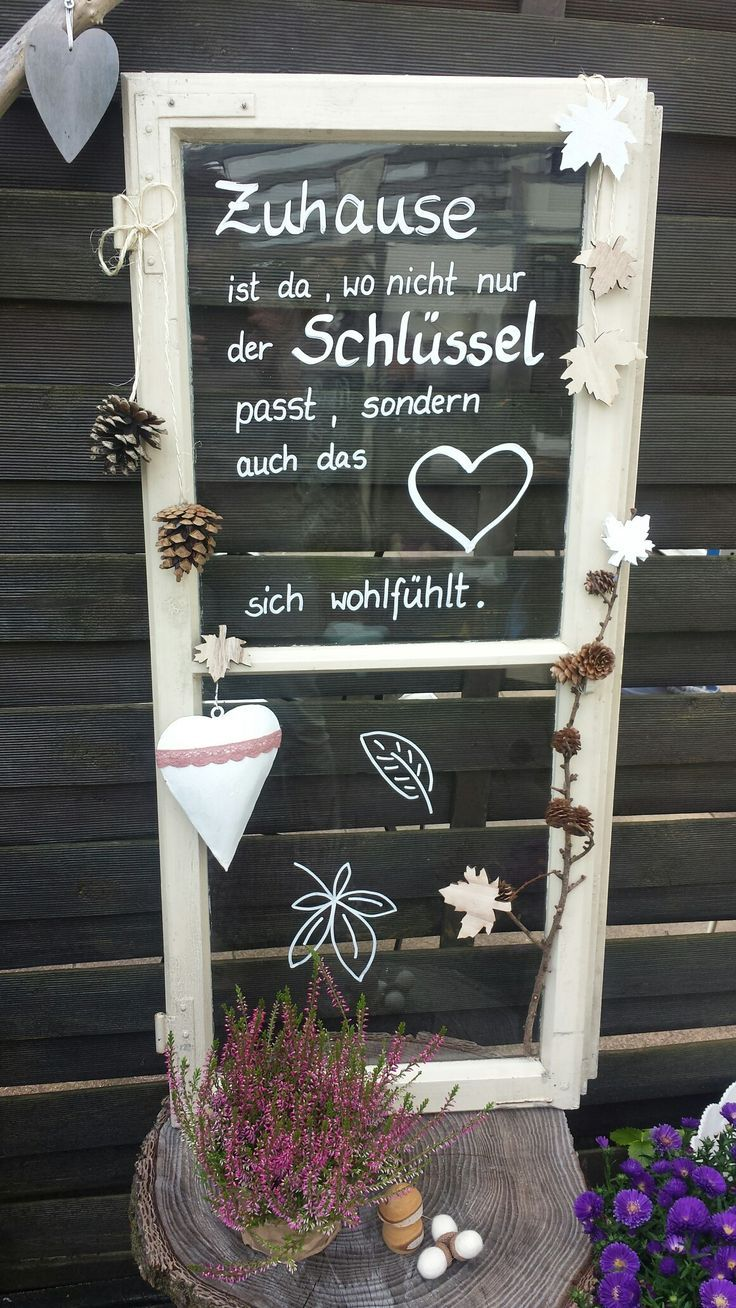 Upcycling altes Fenster