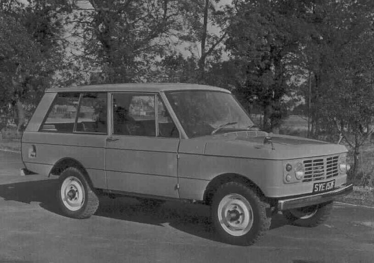 """SYE 157F"" Range Rover Prototype"