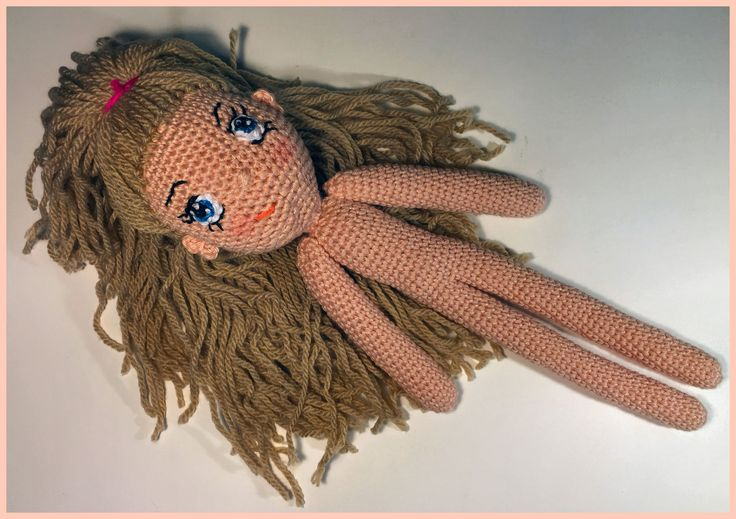 This is a tutorial how to crochet a doll. My dolls are my own design and ideas. For the Jenny doll is this the same tutorial but only shorter body, legs and ...