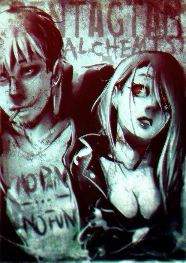 Craven x Marika/mephisto pentagram alchemist kattlett
