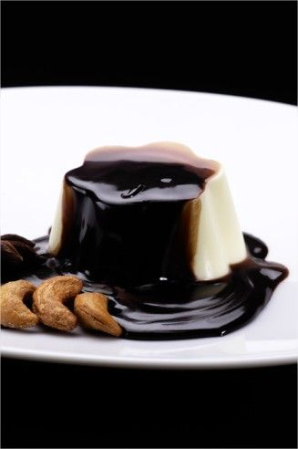 Panna cotta al cioccolato e caffè