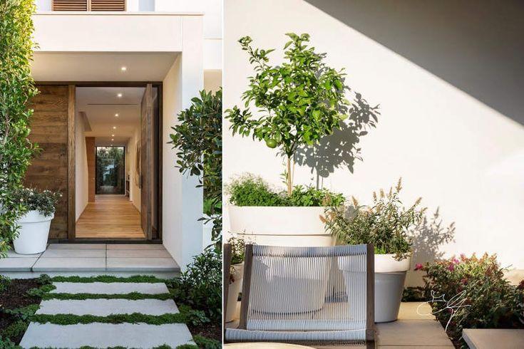 Some garden inspiration today. Contemporary landscape design by Melbourne-based Eugene Gilligan...