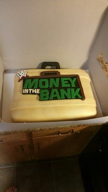 Wwe Money And Cakes On Pinterest