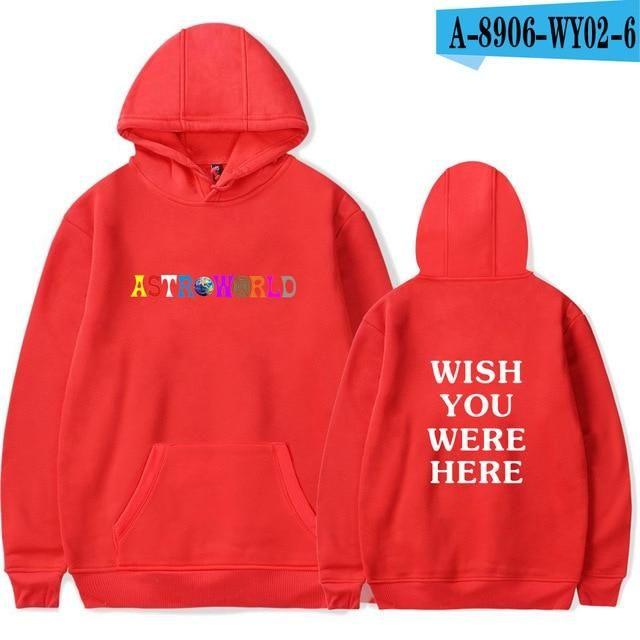 d15098df443 BTS Print Travis Scotts ASTROWORLD Hooded Hoodies Men Women Clothes 2018  Harajuku Hip Hop Hoodies Sweatshirt Male Plus Size 4XL