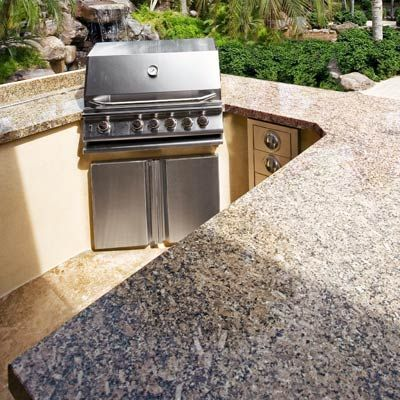 Pinterest the world s catalog of ideas for Outdoor kitchen counter with sink