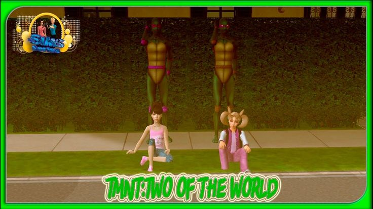 TMNT in the sims 2 Parallel beings.