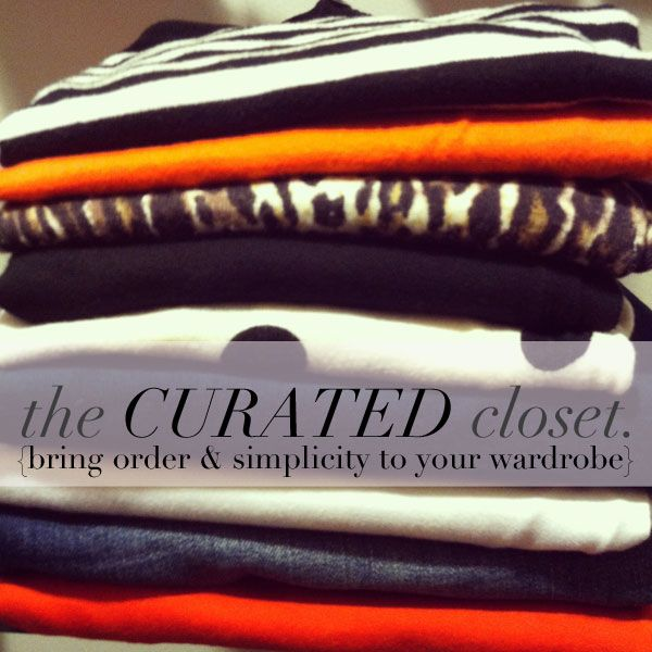 jillgg's good life (for less) | a style blog: the curated closet! {Rule No. 1: don't shop the sale racks}