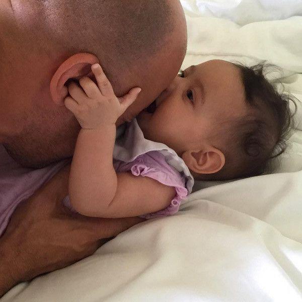 Vin Diesel is the best daddy ever...love that he named his daughter Pauline in honor of his best friend Paul Walker❤