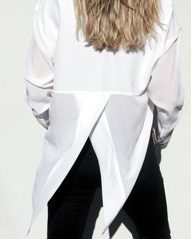 It's all in the details....French Connection white shirt