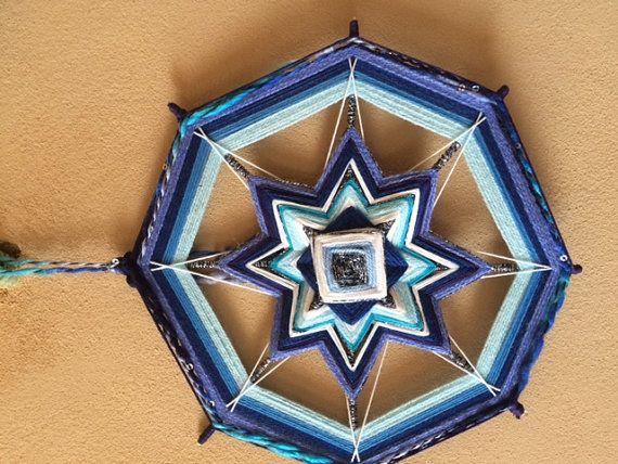 Mandala mágico noche de estrellas por MagicMandalaArt en Etsy