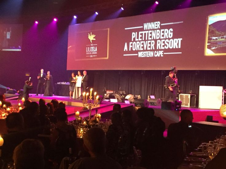 We are proud to announce that Plettenberg, A Forever Resort won the category for best 3 star camping in SA in tonight's National  Lilizela Tourism Awards!!! Thank you to the Lilizela Awards and SA Tourism for the honor!!