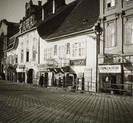Batthyány tér 1936 körül