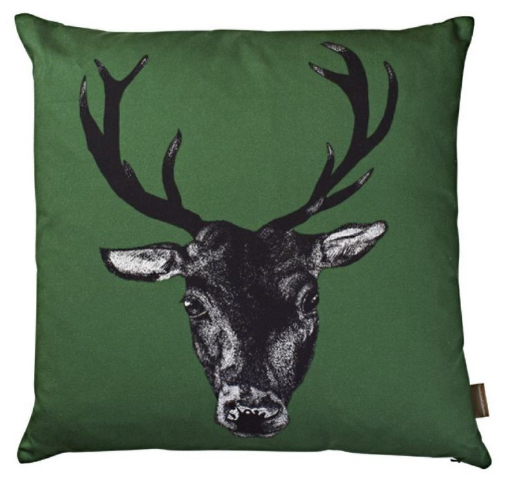 Stag Cushion £48.25 inc. UK postage. For full details please see website www.cushionsbydesign.co.uk