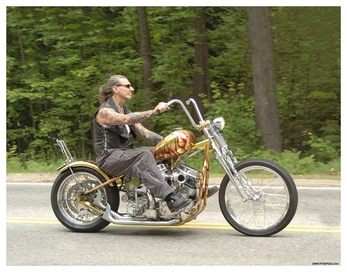 One of the last photos ever taken of Indian Larry