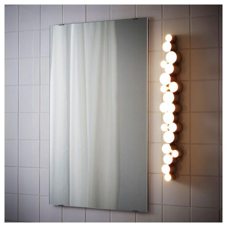 Ikea Bathroom Mirror Light: Best 25+ Vanity Lights Ikea Ideas On Pinterest