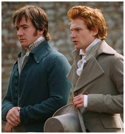 Mr. Darcy & Mr. Bingley #prideandprejudice