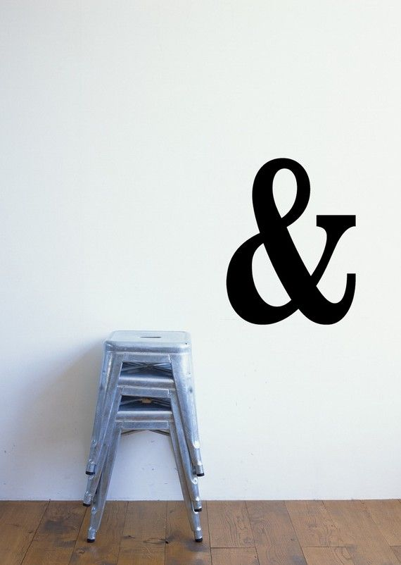 Ampersand Wall Art 44 best wall decals images on pinterest | tree branches, vinyl
