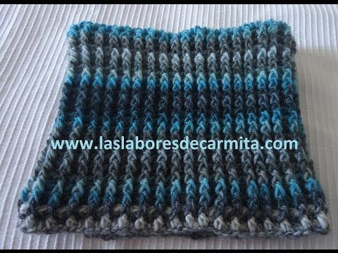 Tutorial CUELLO INFINITO MOEBIUS SIN COSTURA a Ganchillo / Crochet - YouTube