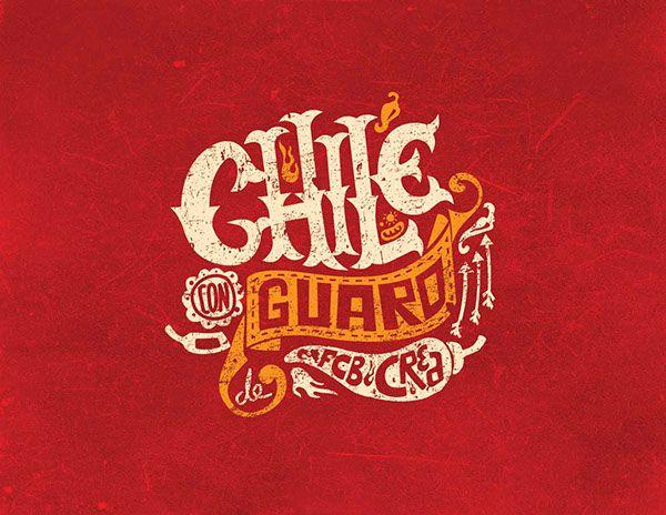Chile con Guaro on Behance
