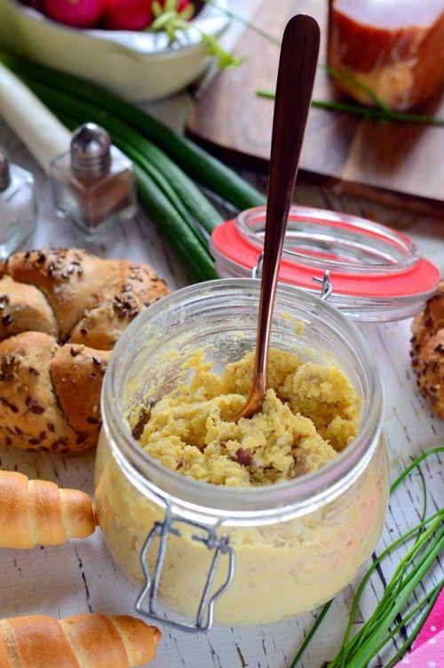 Szalonnás tojáskrém recept