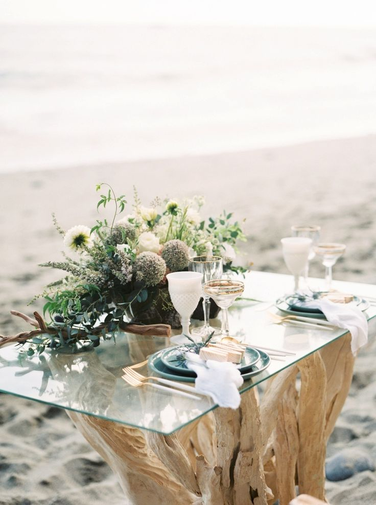 Beach Wedding Setup for your Perfect Wedding. Photography: Nicole Clarey Photography - nicoleclareyphoto.com/ Event Design: Beijos Events - http://www.stylemepretty.com/portfolio/beijos-events Venue: Dana Point - http://www.stylemepretty.com/portfolio/dana-point   Read More on SMP: http://www.stylemepretty.com/california-weddings/2016/02/29/boho-california-coast-wedding-inspiration/