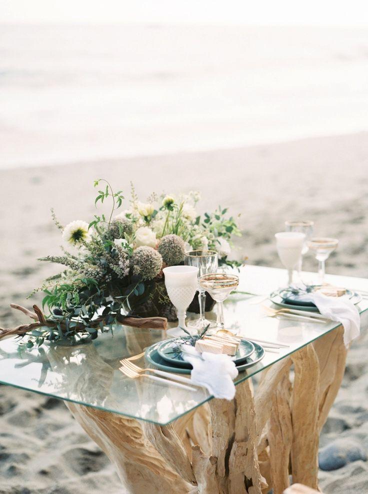 Beach Wedding Setup for your Perfect Wedding. Photography: Nicole Clarey Photography - nicoleclareyphoto.com/ Event Design: Beijos Events - http://www.stylemepretty.com/portfolio/beijos-events Venue: Dana Point - http://www.stylemepretty.com/portfolio/dana-point   Read More on SMP: http://www.stylemepretty.com/california-weddings/2016/02/29/boho-california-coast-wedding-inspiration/