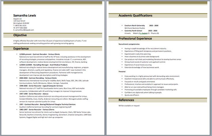 Army Recruiter Resume Army resume Pinterest - army recruiter resume