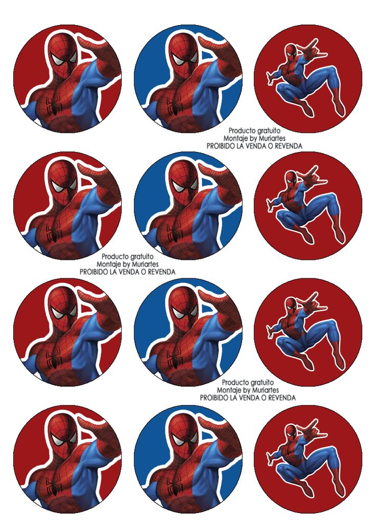 Imprimibles Spiderman - www.susaneda.com