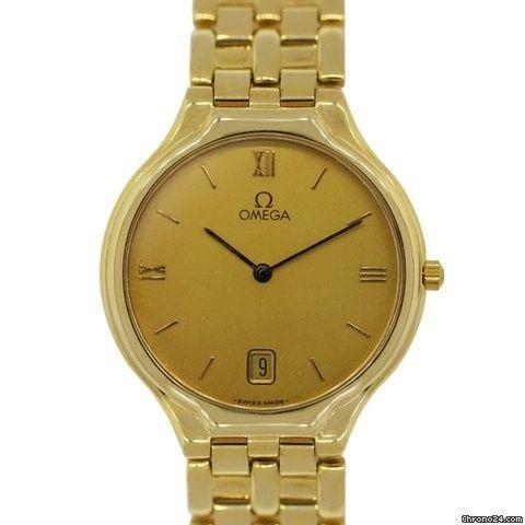 Omega De Ville Symbol 18K Gold Gents Watch