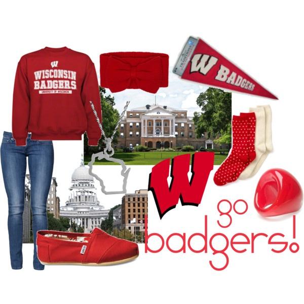 Wisconsin Badgers, duh!